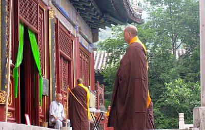 Michael Fitzpatrick Photograph - Monk by Michael Fitzpatrick