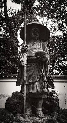 Monk Statuary - Chishakuin Temple -  Kyoto Art Print