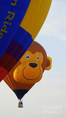 Photograph - Monkey Balloon by Rachel Munoz Striggow
