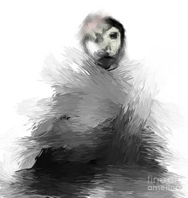 Digital Art - Monkey Strange by Rc Rcd