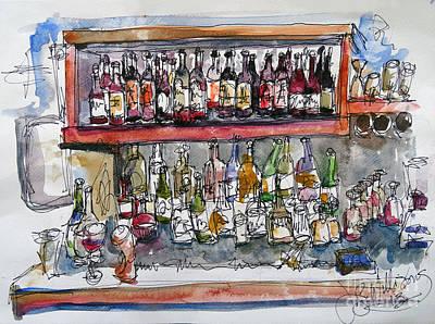 Monkeypod's Bar Art Print