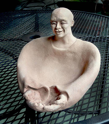 Sculpture - Monk's Bowl by Ed Meredith