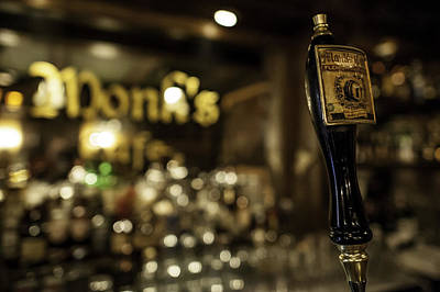 Beer Photograph - Monk's Belgian Cafe by M Kuznicki
