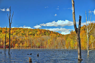 Photograph - Monksville Reservoir 4 by Allen Beatty