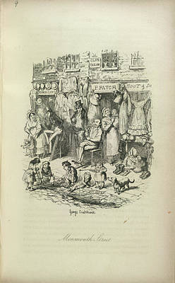 Monmouth Street Print by British Library