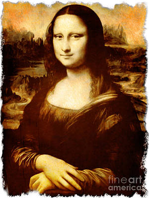 Monna Lisa Original by Stefano Senise