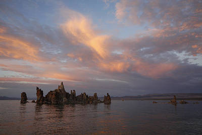 Mono Lake At Sunset Art Print