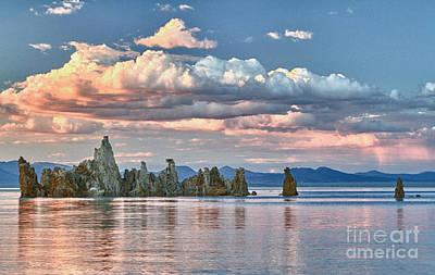 Mono Lake At Sunset Original
