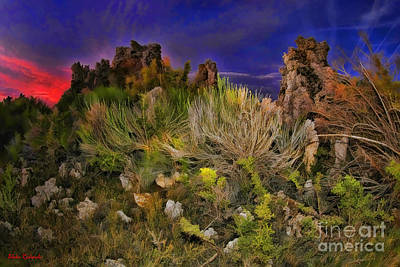 Photograph - Mono Lake Colors Of The Night by Blake Richards