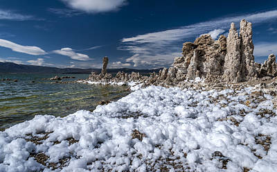 Photograph - Mono Lake Foam by Cat Connor