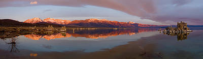 California Seascape Photograph - Mono Lake Panorama by Zane Paxton