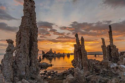 Photograph - Mono Lake Sunrise by Greg Nyquist