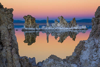 Photograph - Mono Lake Through A Tufa Frame by Joe Doherty