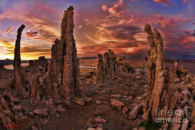 Photograph - Mono Lake Tufa  by Blake Richards