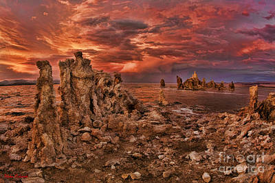 Photograph - Mono Lake Tufa Towers by Blake Richards