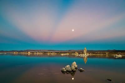 Photograph - Mono Moon Rising by James Capo