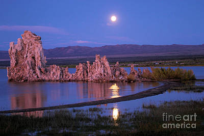 Photograph - Mono Moonrise by Adam Jewell