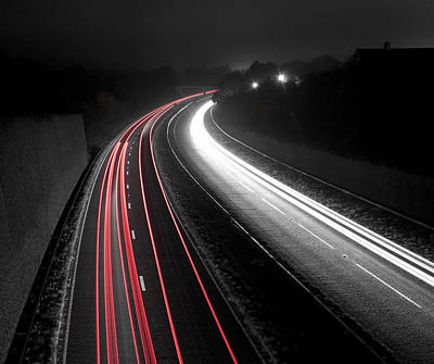 Photograph - Mono Motorway by Ian Cocklin