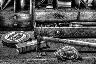 Photograph - Mono Olde Desk by Beverly Cash