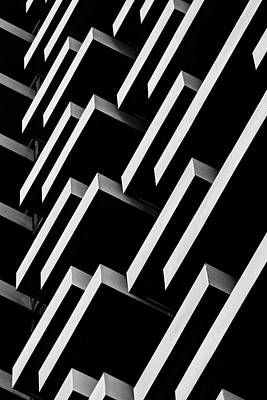 Photograph - Monochrome Architectural Details by Marcia Straub