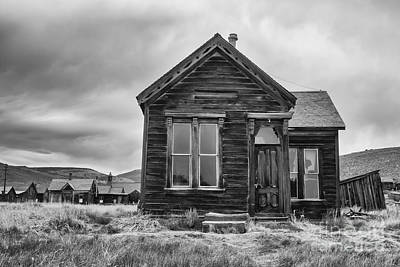 Photograph - Monochrome Home by Terry Ellis