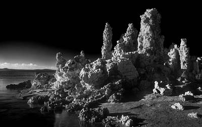 Photograph - Monochrome Mono Lake by Inge Riis McDonald