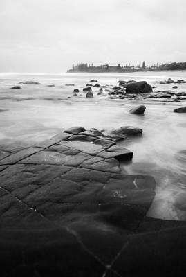 Photograph - Monochrome Ocean by Parker Cunningham