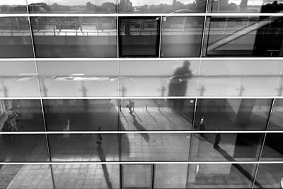 Monochrome Reflection Art Print by Stelios Kleanthous
