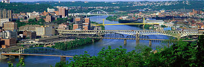 Monongahela River Pittsburgh Pa Usa Art Print by Panoramic Images