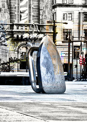 Monopoly Iron Statue In Philadelphia Art Print by Bill Cannon