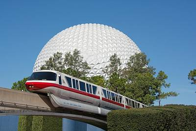 Photograph - Monorail by John Black