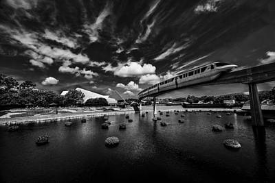 Photograph - Monorail by Kevin Cable