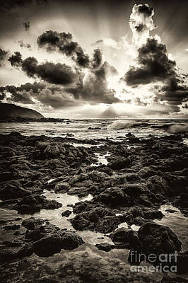 Photograph - Monotone Explosion by Anthony Bonafede
