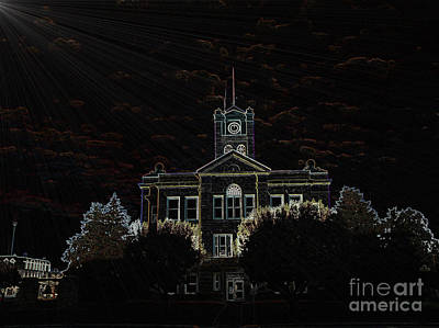 Photograph - Monroe County Courthouse by  Kathy Cornett