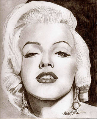 Drawing - Monroe by Michael Mestas