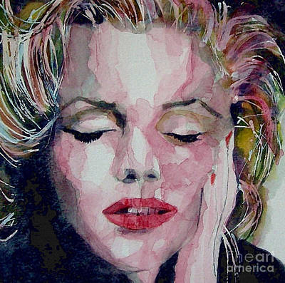 Marilyn Monroe Painting - Monroe No 6 by Paul Lovering