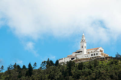 Monserrate Church Print by Jess Kraft