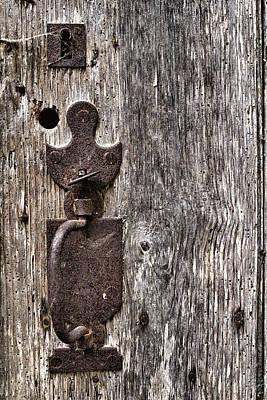 Monsieur Door Lock Art Print