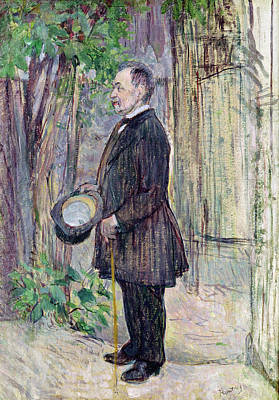 Post-impressionist Photograph - Monsieur Henry Dihau, 1891 Oil On Canvas by Henri de Toulouse-Lautrec