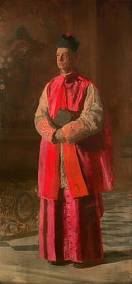Turner Artwork Painting - Monsignor James Turner by Mountain Dreams