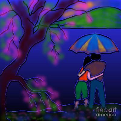 Monsoon Art Print