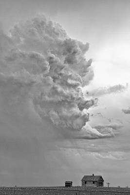 Monster Photograph - Monster Cloud Country Black And White  by James BO  Insogna