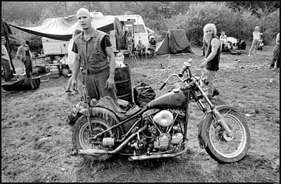Harley Photograph - Monster Mud by Doug Barber