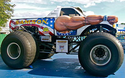 Photograph - Monster Truck by Denise Mazzocco