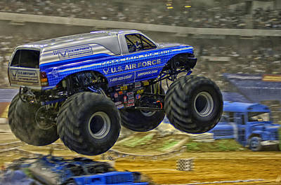 Monster Truck Photograph - Monster Truck by Mountain Dreams