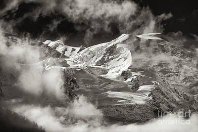 Mont Blanc Group Art Print by Juergen Klust