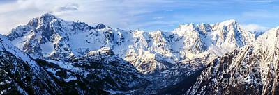 Mont Blanc View  Art Print