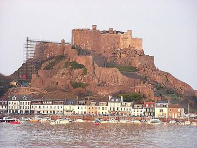 Photograph - Mont Orgueil Gorey Castle by Keith Stokes