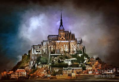 Mont Saint Michel   Original by Andrzej Szczerski