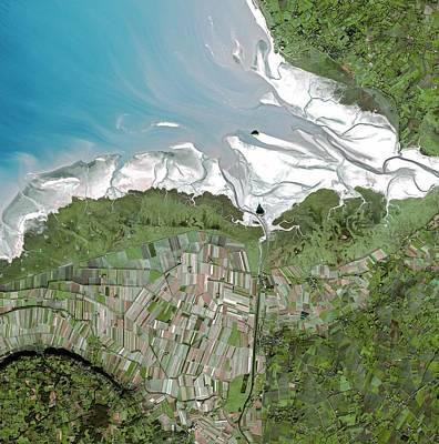 Mont Saint Michel Photograph - Mont Saint-michel Bay by Infoterra Ltd